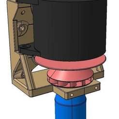 Descargar Modelos 3D para imprimir gratis Turbina de agua con generador de 12VDC 6-10l/s 10-30m 230-1150W, Frankthetank