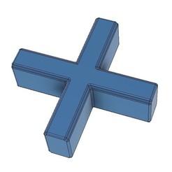 6.jpg Télécharger fichier STL Les entretoises de carreaux traversent les carreaux • Plan imprimable en 3D, Frankthetank