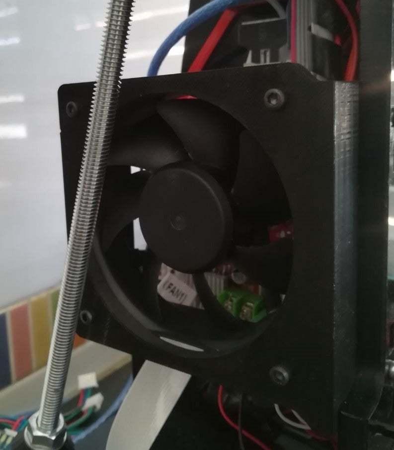 Foto00.jpg Télécharger fichier STL gratuit Soutien au ventilateur électronique Anet A6 • Design imprimable en 3D, robertoperezparro