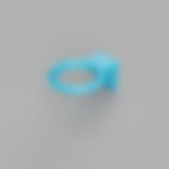 Download free 3D model Hair dryer wall bracket, defdjamel2008