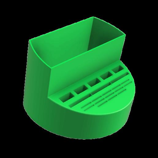 box_pencils v3.png Télécharger fichier STL Boite de rangement crayon, clés usb , carte SD et micro SD • Plan pour imprimante 3D, defdjamel2008