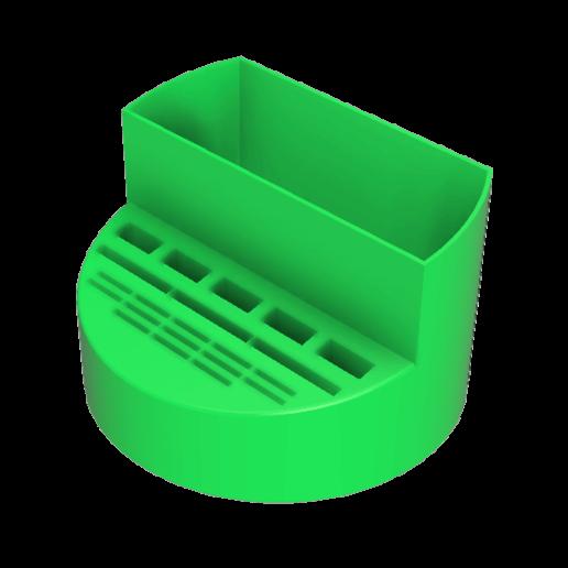 box_pencils v5.png Télécharger fichier STL Boite de rangement crayon, clés usb , carte SD et micro SD • Plan pour imprimante 3D, defdjamel2008