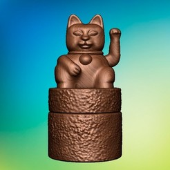 Download 3D printing designs MANEKI NEKO BOX, eugearg