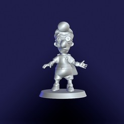 Download 3D printer model Milhouse. Fall out Boy. The Simpsons, eugearg