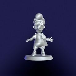 Descargar diseños 3D Milhouse Niño Fusión (Niño Fisión). Los Simpsons, eugearg