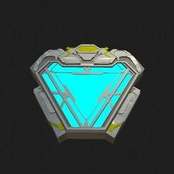 Descargar modelos 3D Arc Reactor Infinity War NanoTech, Eurinome