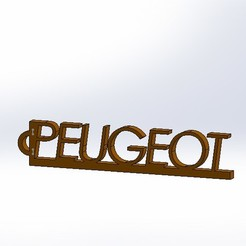 Download free 3D model Peugeot key ring, pachumorano