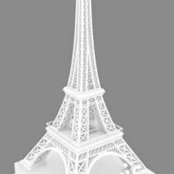 Download free STL file Eiffel Tower • 3D printable design, gabingiangreco