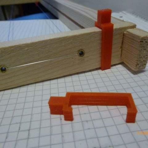 P1000252_display_large.JPG Download free STL file Beehive frame spacer • 3D printer model, Beekeeper3Dprinter