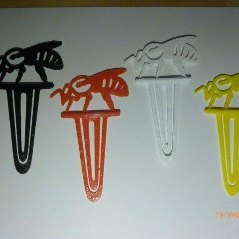Download free 3D print files Bee Book mark, Beekeeper3Dprinter