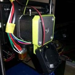 Descargar archivo 3D gratis soporte para ventilador qu-bd oneup twoup, Beekeeper3Dprinter