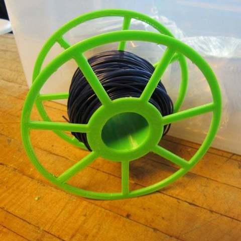 Download free 3D printing models Rostock Max Filament Spool, Beekeeper3Dprinter