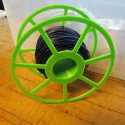Download free 3D printing models Rostock Max Filament Spool, Beekeeper3Dprinter