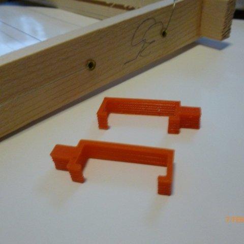 P1000251_display_large.JPG Download free STL file Beehive frame spacer • 3D printer model, Beekeeper3Dprinter