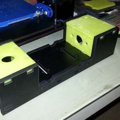 Descargar archivos STL gratis Qu-BD OneUp Twoup Twoup Plate piezas, Beekeeper3Dprinter