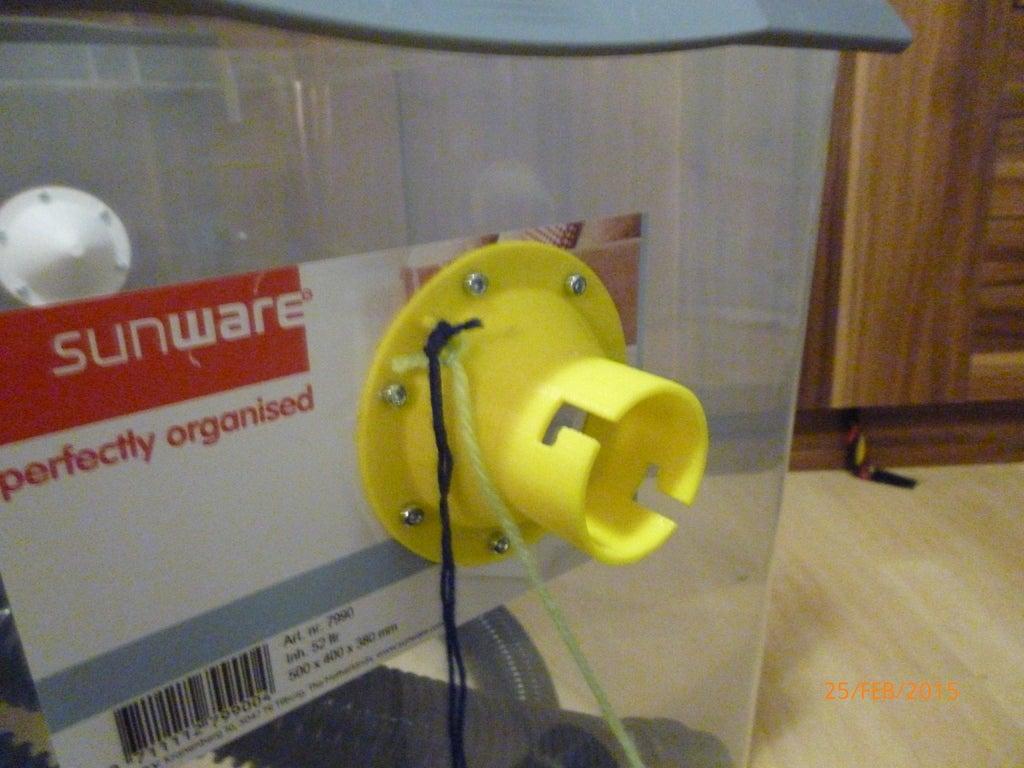 P1000304_display_large.JPG Download free STL file Bee vac kit • Template to 3D print, Beekeeper3Dprinter