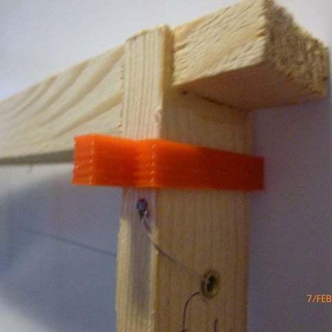 Free STL Beehive frame spacer, Beekeeper3Dprinter