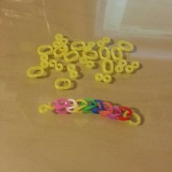 Download free 3D printing files loom rubber band clip-connector, Beekeeper3Dprinter