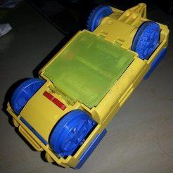 Télécharger plan imprimante 3D gatuit Lego Duplo Loco Couvercle de batterie - Lok Batterie Deckel, Beekeeper3Dprinter