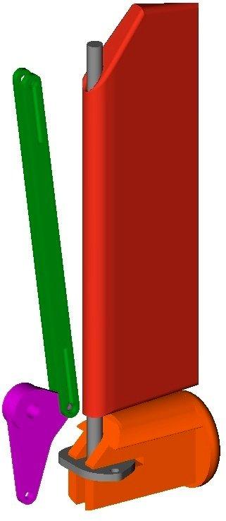 Tail_linkage_1_display_large.jpg Télécharger fichier STL gratuit Planeur modulaire RC Sailplane entièrement imprimé en 3D. • Objet à imprimer en 3D, Georgemacghay