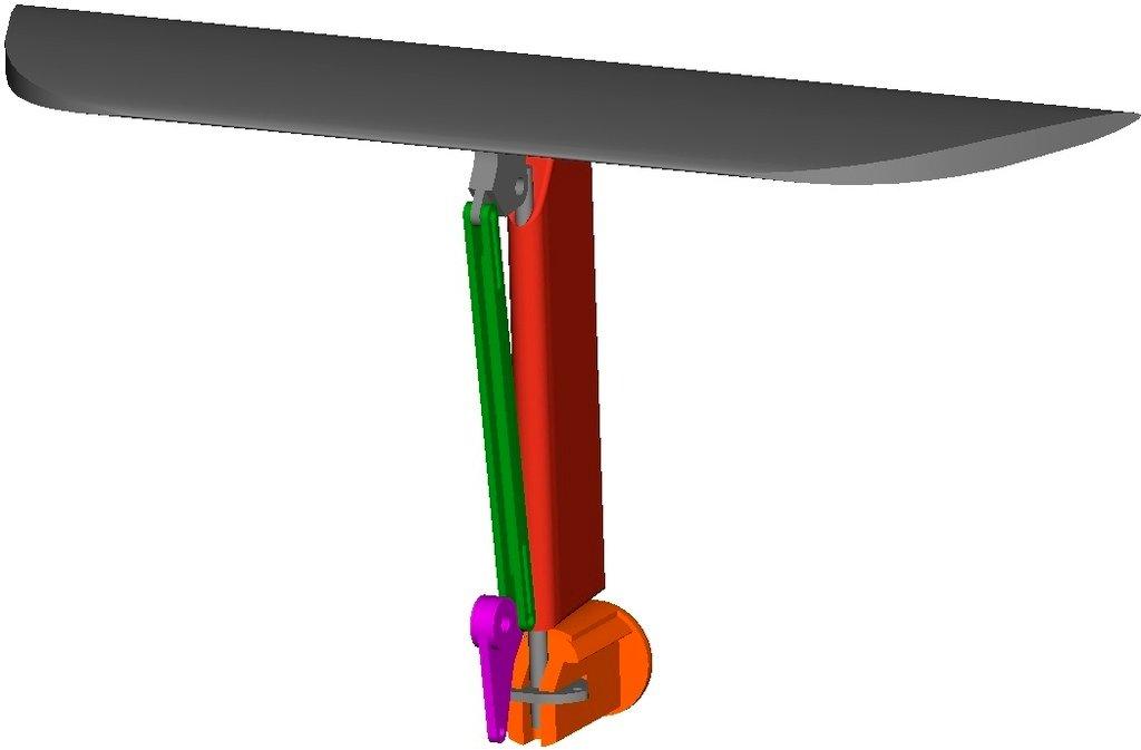 Tail_linkage_2_display_large.jpg Télécharger fichier STL gratuit Planeur modulaire RC Sailplane entièrement imprimé en 3D. • Objet à imprimer en 3D, Georgemacghay