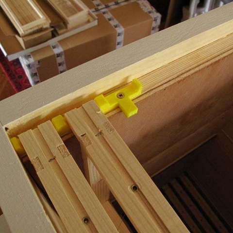 Download free 3D printing files Beehive broodbox frame spacers - Simplex, Georgemacghay