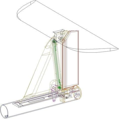 Tail_wireframe_display_large.jpg Télécharger fichier STL gratuit Planeur modulaire RC Sailplane entièrement imprimé en 3D. • Objet à imprimer en 3D, Georgemacghay