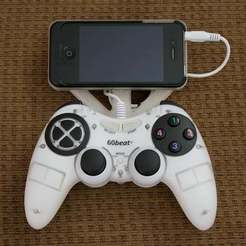 Download free 3D printer model 60Beat Controller iPhone mount., Georgemacghay