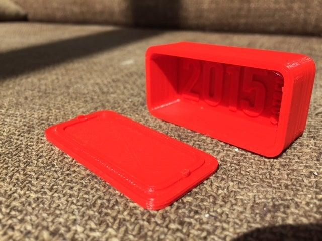 IMG_0860_display_large.JPG Télécharger fichier STL gratuit Boîte rouge d'usage général 60 x 30mm • Design pour impression 3D, Lorrainedelgado3DBEES