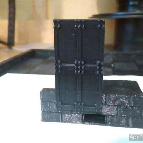 Télécharger fichier STL gratuit Véritables Carreaux Porte Métallique • Design à imprimer en 3D, Lorrainedelgado3DBEES