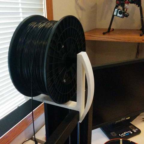 Download free 3D print files Printrbot Metal Plus Spool Holder, Lorrainedelgado3DBEES