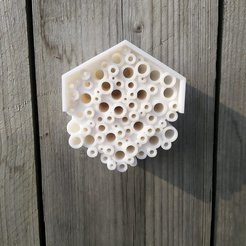 4e6f0100ef18d3107fd0f0fe7feeb31a_display_large.jpg Download free STL file Bee Hotel • 3D printable design, Lorrainedelgado3DBEES
