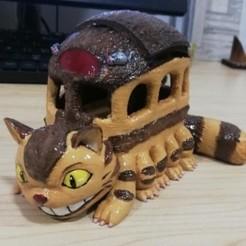 Descargar modelo 3D gratis Catbus(Mi vecino Totoro), majac_932