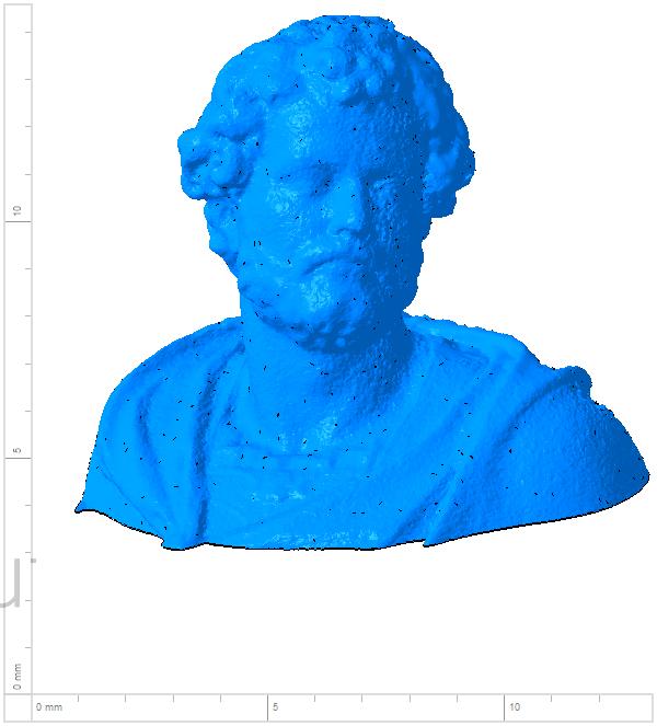 Annibal 001.png Télécharger fichier OBJ gratuit Buste de la statue d'Hannibal Slodtz Atelier Des Lumiers musée • Modèle pour impression 3D, Or10m4