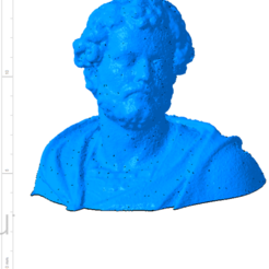 Download free STL Bust of the statue of Hannibal Slodtz Atelier Des Lumiers museum, Or10m4