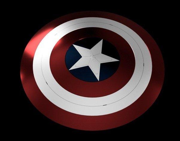 Captain America Shield Endgame.jpg Télécharger fichier STL gratuit Bouclier Captain America Fin de partie • Modèle imprimable en 3D, Or10m4