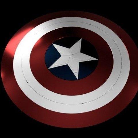 Télécharger fichier 3D gratuit Bouclier Captain America Fin de partie, Or10m4