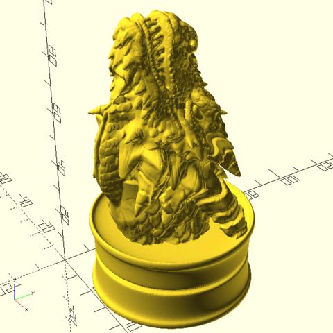 Télécharger fichier STL gratuit Jeu Des Trônes Insigne De Maison De Targaryen De Trônes De Targaryen • Plan pour impression 3D, Or10m4