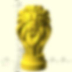 Lannister.stl Télécharger fichier STL gratuit Insigne de maison de Lannister de jeu des trônes de trônes • Objet imprimable en 3D, Or10m4