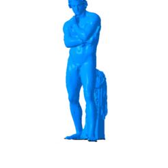 Download free STL file Statue Espartacus, Or10m4