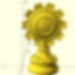 Download free 3D model Game Of Thrones Karstark House Badge, Or10m4