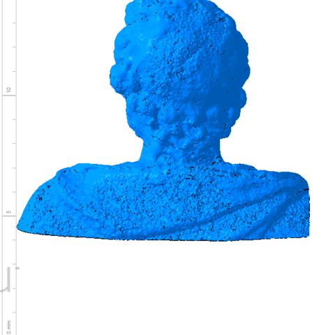 Annibal 003.png Télécharger fichier OBJ gratuit Buste de la statue d'Hannibal Slodtz Atelier Des Lumiers musée • Modèle pour impression 3D, Or10m4