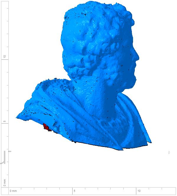 Annibal 004.png Télécharger fichier OBJ gratuit Buste de la statue d'Hannibal Slodtz Atelier Des Lumiers musée • Modèle pour impression 3D, Or10m4