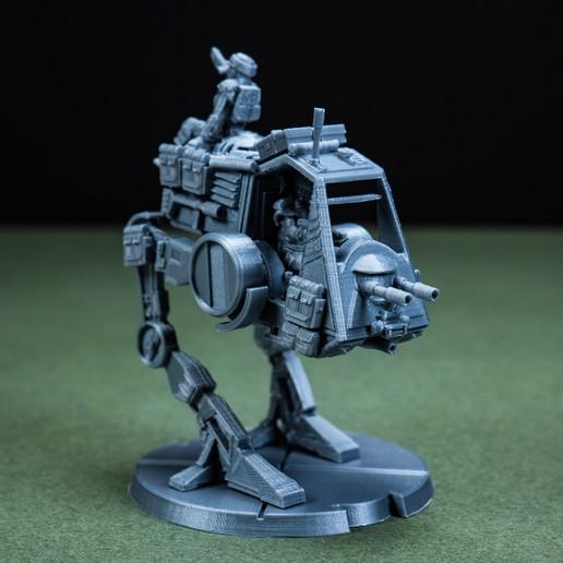 Download 3D Printer Files AT-PT Rebel Walker, Legion Scale