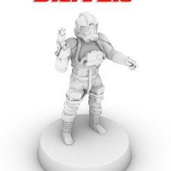 POSTER_AT_AT.jpg Download STL file AT AT DRIVER, LEGION SCALE, STAR WARS, RPG, UNPAINTED, ROLE PLAYING, D&D • 3D printer object, LANARDARNA