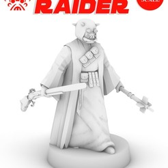 TUSKEN_POSTER.jpg Download free STL file TUSKEN RAIDER, LEGION SCALE, STAR WARS, RPG, UNPAINTED, ROLE PLAYING, D&D • Object to 3D print, LANARDARNA