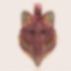 Télécharger fichier 3D gratuit Pendentif Fox, Skap14