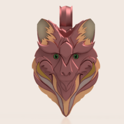 Download free STL pendant Fox, Skap14