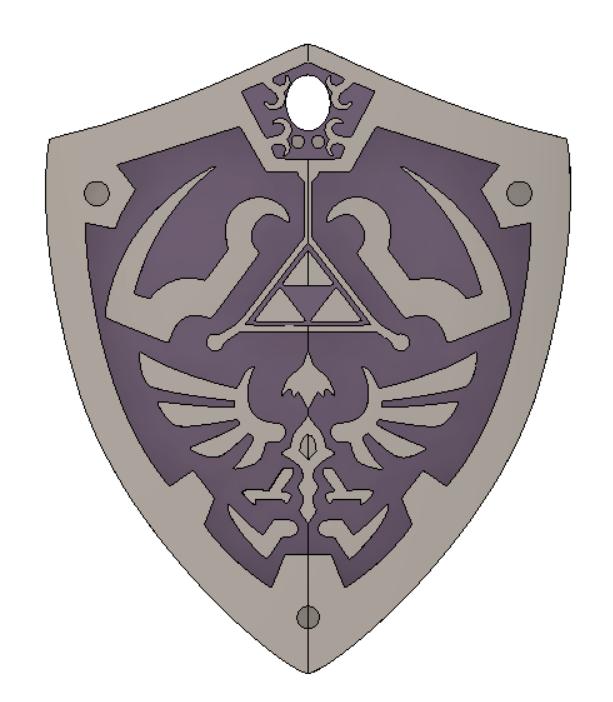 legend_of_Zelda vol2 6.png Download free STL file THE LEGEND OF ZELDA VOL2 • 3D printing template, Skap14