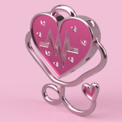 Valentine's Day 5.png Download free STL file pendant for Valentine's Day • 3D printable model, Skap14